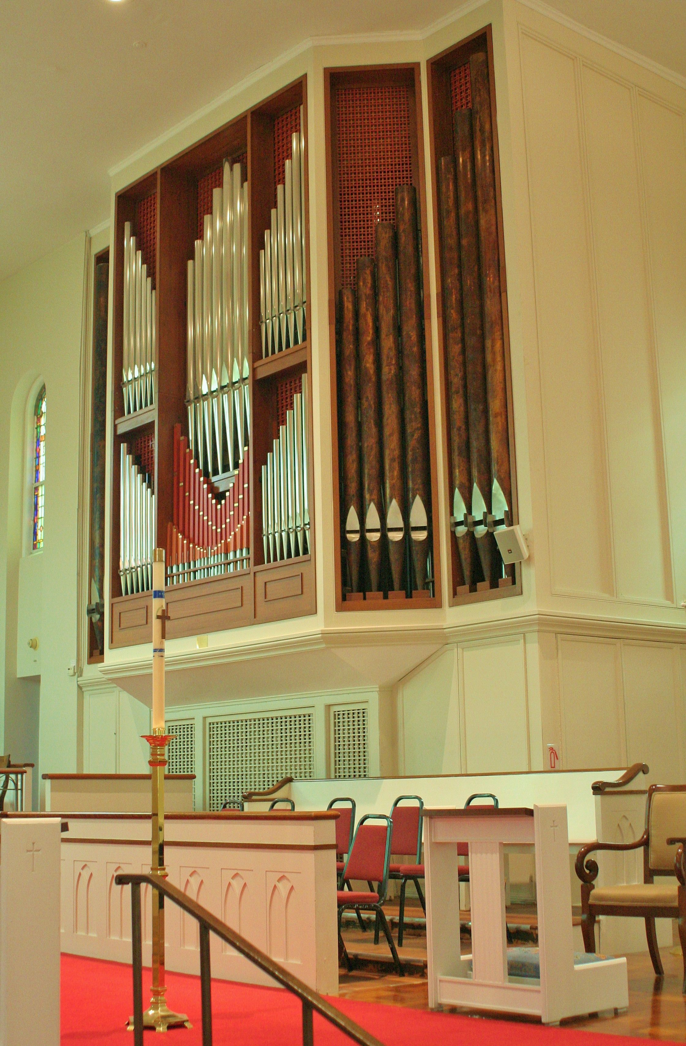 Work by Buzard Pipe Organ Builders
