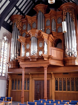 Work by Parsons Pipe Organ Builders